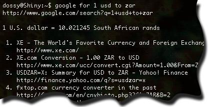 'google for' screenshot