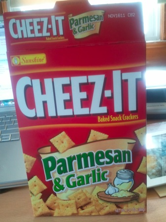 Parmesan & Garlic Cheez-It