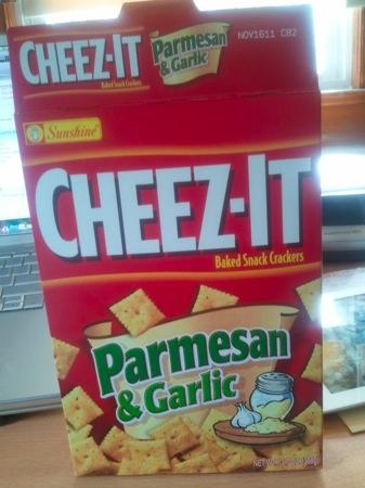 Parmesan & Garlic Cheez-It