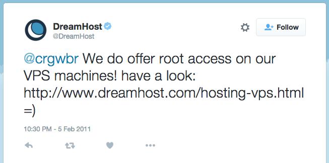 dreamhost-root-vps-tweet